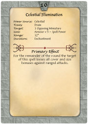 An Example of the Full Colour Spell Cards