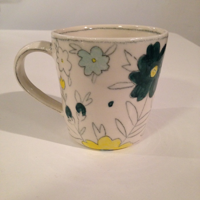 Molly Hatch handmade mug- $125 reward. Only two available.