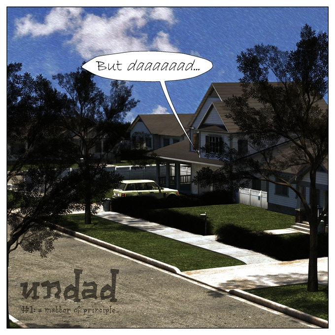 Undad Issue 1, Page 1