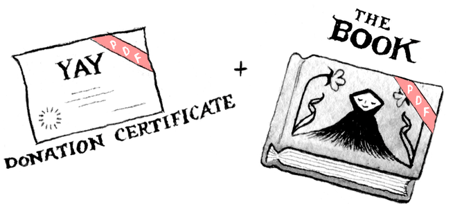 REWARD LEVEL 1 (DIGITAL DELIGHT): Digital Certificate of Donation + Digital Copy of the Book
