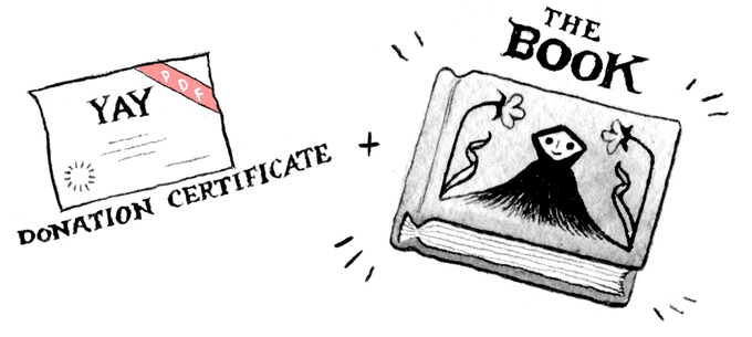 REWARD LEVEL 2 (KEEPIN IT REAL): Digital Certificate of Donation + A Physical Copy of the Book!