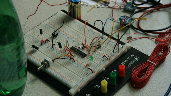 First prototype, not quite wireless... yet ;-)