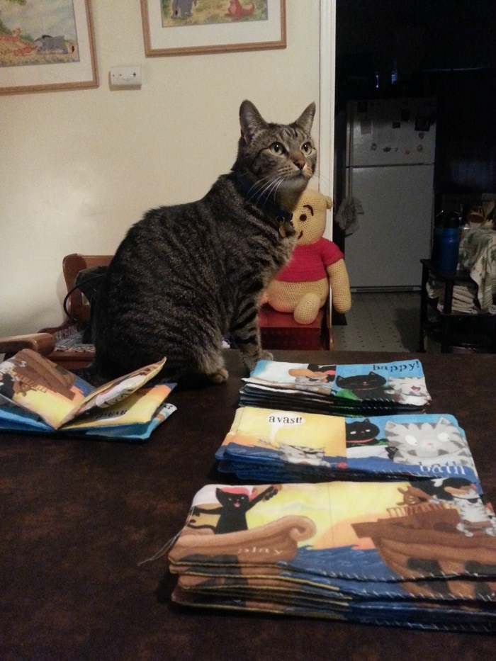Jack the Kitten is Very Sleepy - Children's Book with Cats