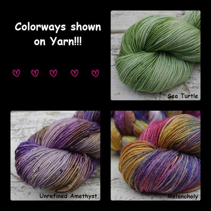 More Yarn Colorways!