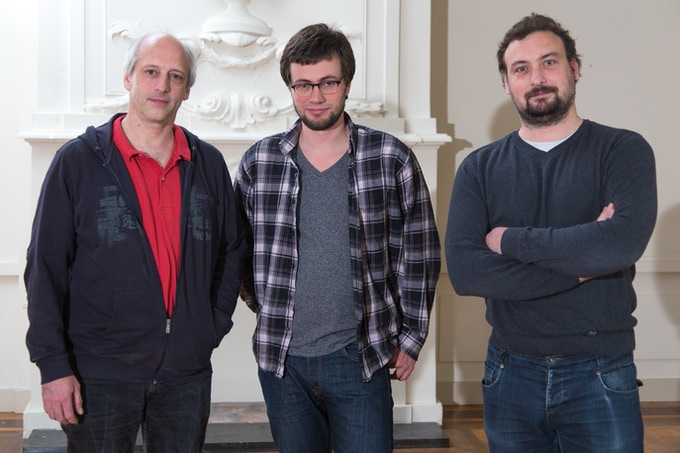 From left to right Matthijs, Joep and Marcel (part of the team.. some missing we will fill in later )