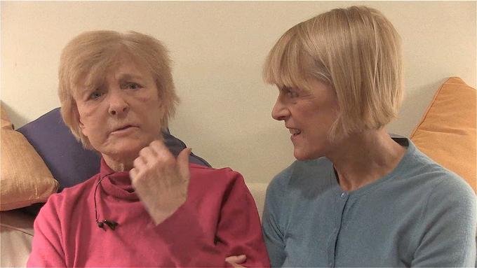 Me and Patricia (left) in November 2014