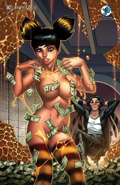 "WIDOW'S WEB #2 Kickstarter ""HONEY"" Incentive Exclusive by Ale Garza and Nei Ruffino (Limited to 250) (See Gold Tier Reward Incentive)"