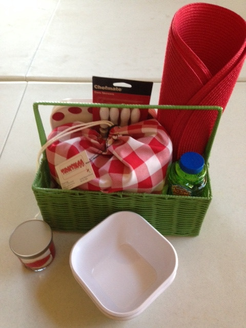 Example of our Mini-Picnic Basket