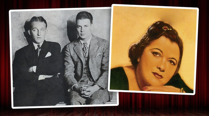 Bing Crosby, Al Rinker, and Mildred Bailey