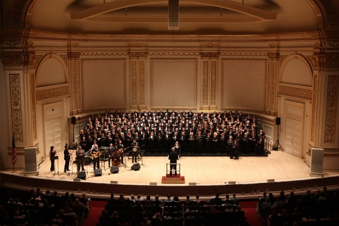 DCINY 2014 Production, Carnegie Hall