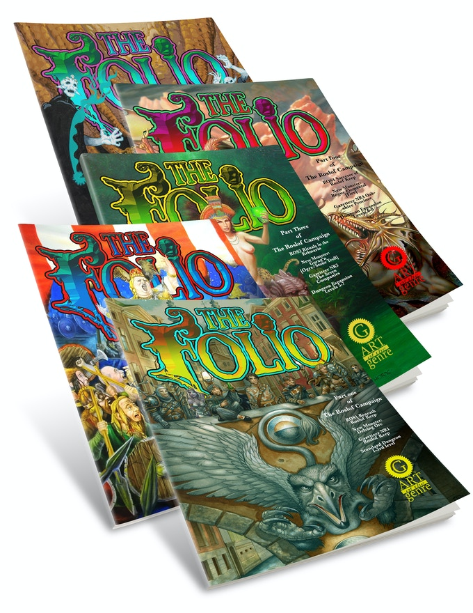 We've already got the covers, we just need your help to complete the series through our stretch goals!