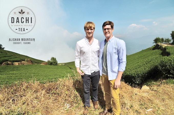 Simon George Thomas & Nicholas Palumbo, founders of Dachi Tea Co.