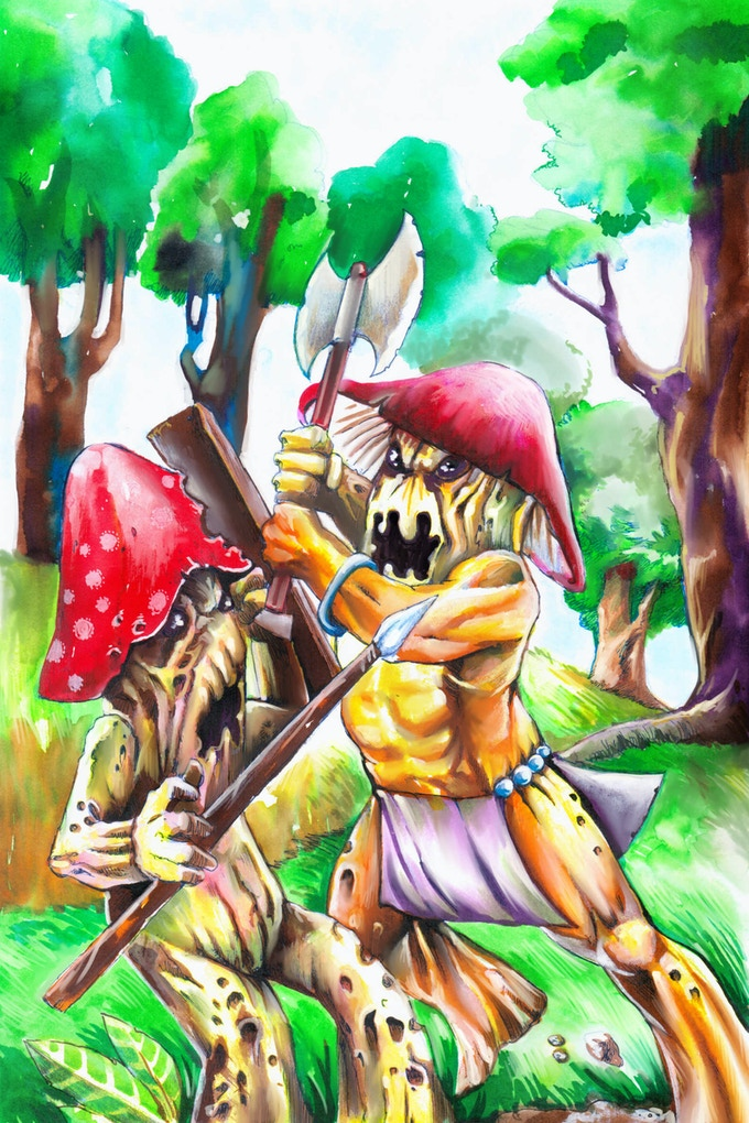 Battle of the Fungi