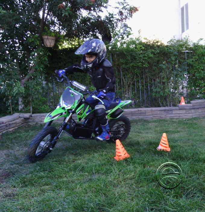 Only on Kickstarter your Mini Thunder will include a free training guide and cones to help teach your young rider the steps to learn proper riding fundamentals.