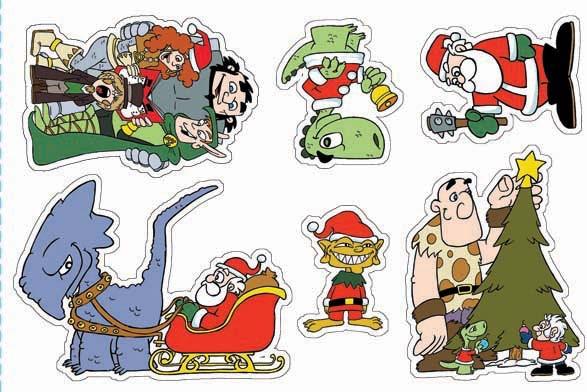 Sticker Sheet 2: Fantasy Christmas