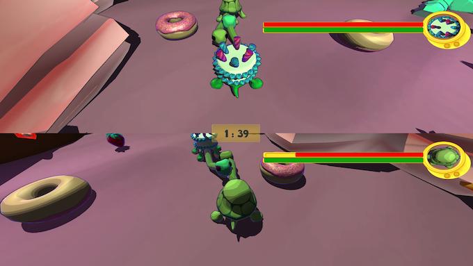 Super kawaii turtle action!