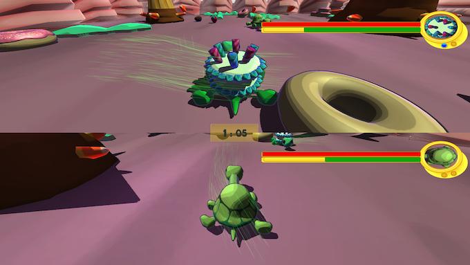 High-speed turtles!