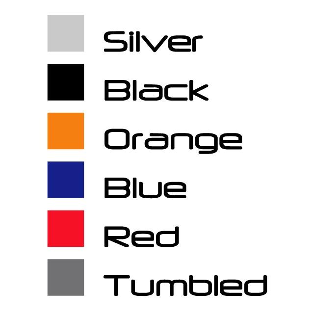 Aluminum Color Options