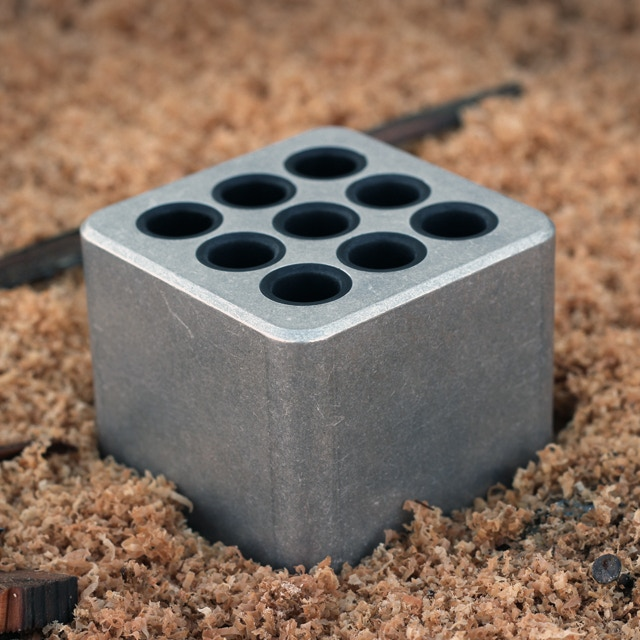 Tumbled Aluminum Finish