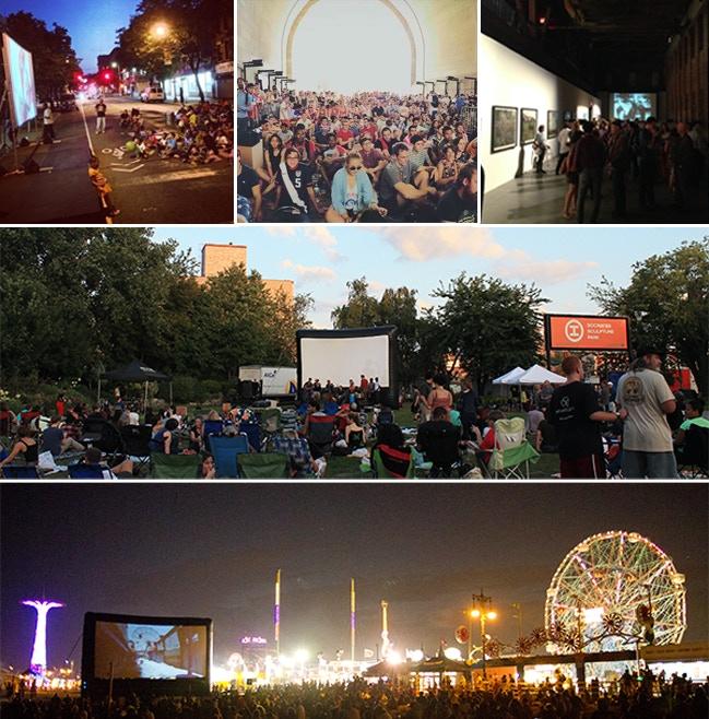 Rooftop Films Community Partners