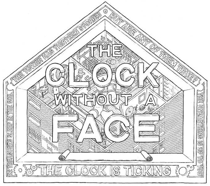 $150 pledge - super rare The Clock without a Face litho image