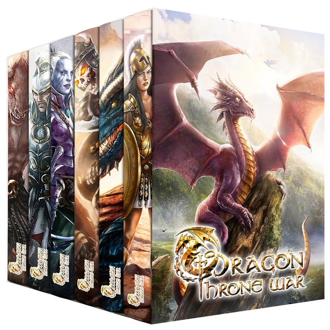 The complete printed saga with DTW sleeve. Get it from the DUKE tier onwards - Artwork is subject to change
