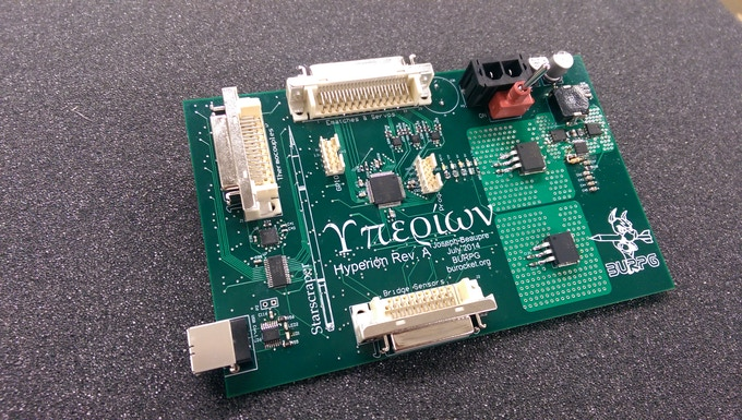 Hyperion Rev. A - Data Acquisition and Fuel & Process Control Board