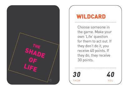 """Back of cards and """"Wildcard"""""""