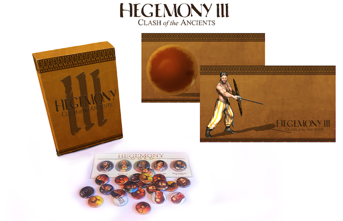 We've got a Limited Edition Kickstarter Boxed copy of the Game, Desktop Wallpapers (5 packs of 5), Buttons (again 5 packs of 5), and not pictured: Posters and an Art Book (Images subject to change - we'll post updates as we finalize the designs)