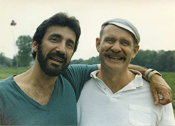 Charles Laquidara (left) and Andy Kopkind (right)