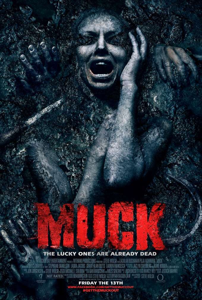 MUCK Official Theatrical Poster Available as a Reward and an Add-On!