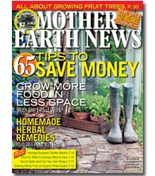 One of many reliable sources for advertisement. (photo courtesy of Mother Earth News)