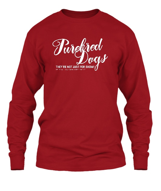 You asked for it, and here it is: A long sleeved tee-shirt in red!