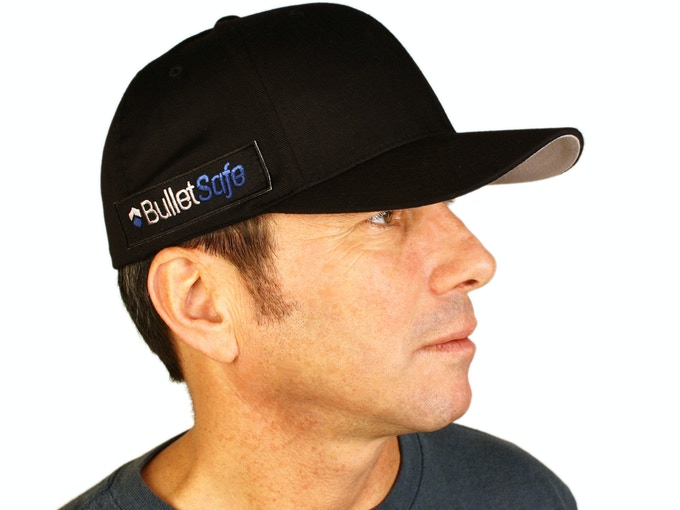 A Prototype of the BulletSafe Bulletproof Baseball Cap