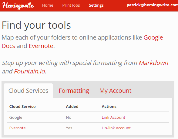 One writing tool to rule them all