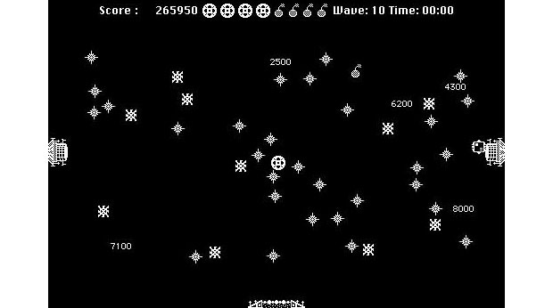 Screenshot from the 1987 original Macintosh version
