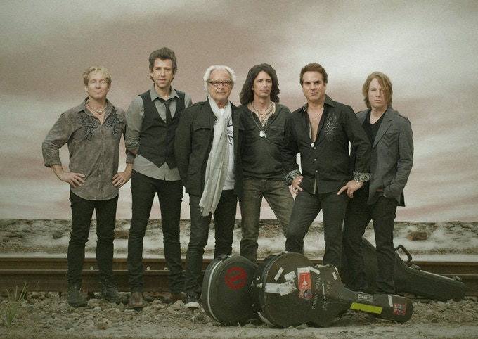 "Mark Schulman here with legendary Foreigner (""I Want to Know What Love Is"")."