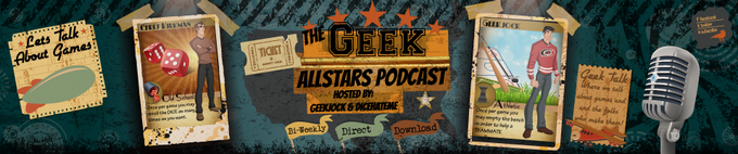 The Geek Allstars discuss Tiny Epic Galaxies on their Podcast @ 0:43:00. Click to listen.