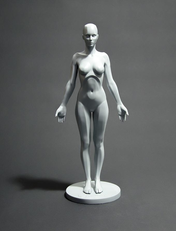 Female Planar - resin prototype