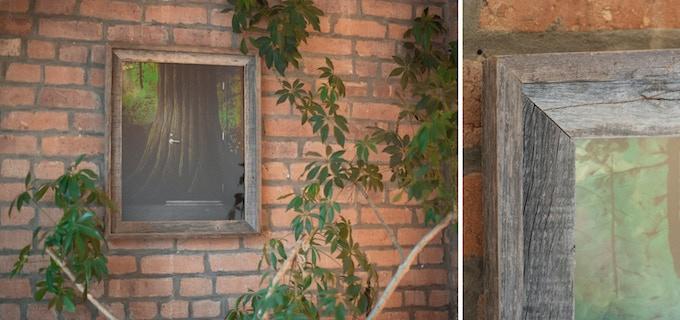 The Threshold, 16x20 reclaimed wood frame