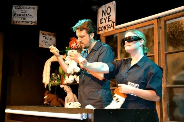 "from ""The Puppet Shoppe,"" an original play by Chris Caswell, presented at the Off Center in September 2013"