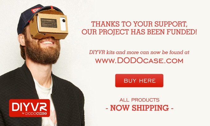 Visit www.DODOcase.com to buy Virtual Reality Products