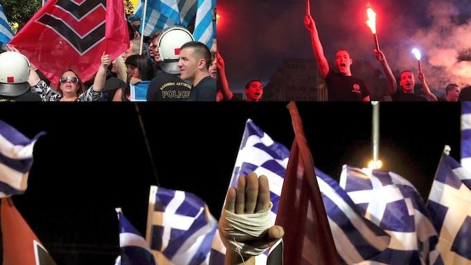 Greece 2013 Golden Dawn party