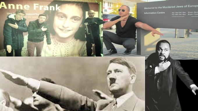 'Qeunelle' the new anti Jewish salute