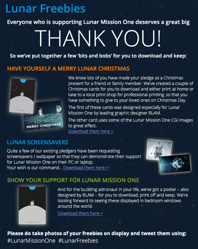 Lunar Freebies - view them here >