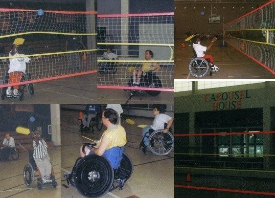 WHEELCHAIR PLAY & COMPETITIONS - NO MODIFICATIONS LIMITING PLAY