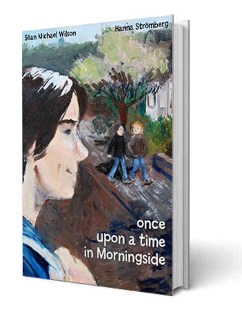 The Hardback book with beautiful cover art from Hanna