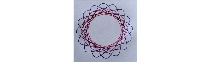 Spirograph- very fun to make, but not so much fun after... the fun is entirely in the making.