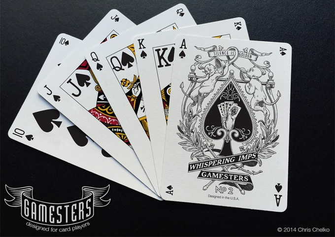 "The ""Limited Edition Gamesters"" Royal Flush"