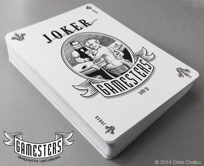 "The ""Limited Edition Gamesters"" Joker"